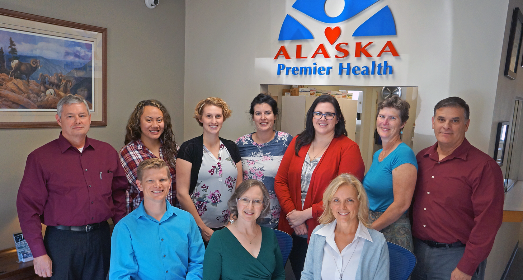 Group photo of Alaska Premier Health staff