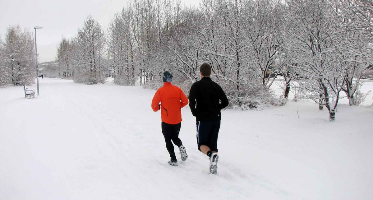 keeping the weight off jogging in Alaska