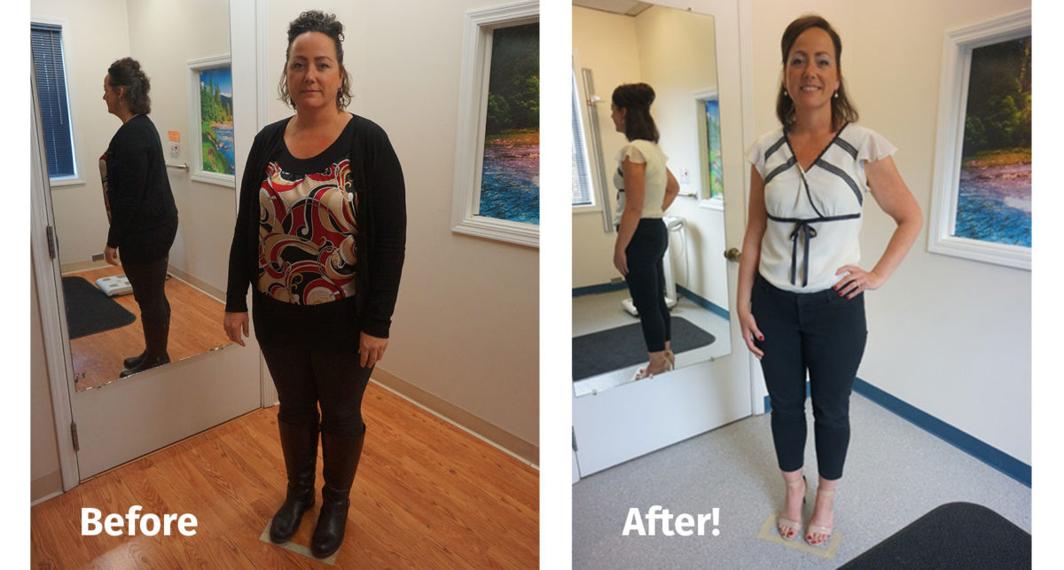 Ambra Before and After Wight Loss