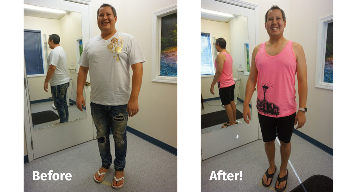 William B weight loss optifast