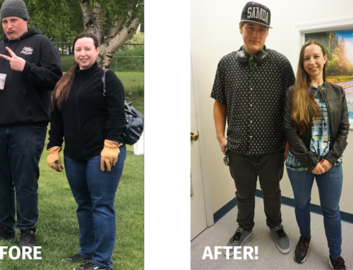 Vicki's story: Tackling weight loss with a family member